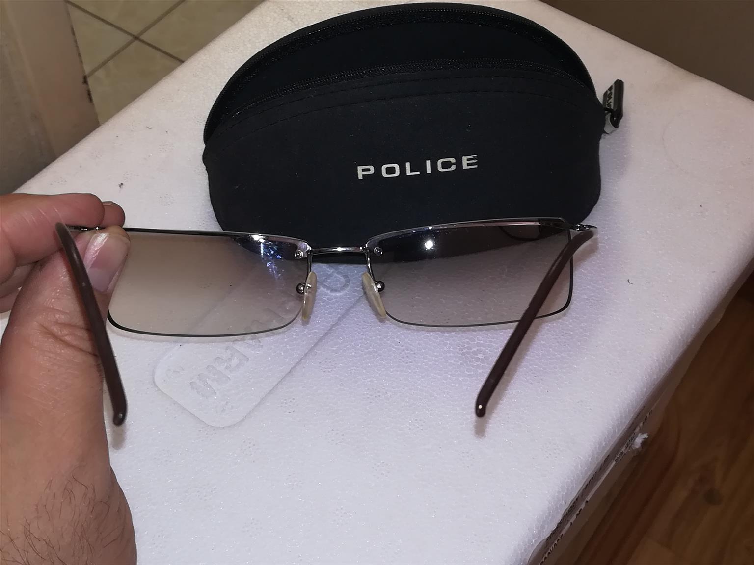 Police Unisex Sunglasses (Frameless)