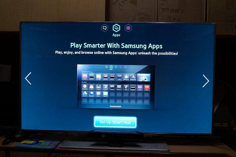 "broken screen 40"" F7500 Samsung 3D Tv for spares"