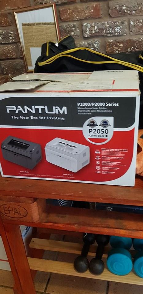 Pantum P2050 printer.Print net swart.Nuut