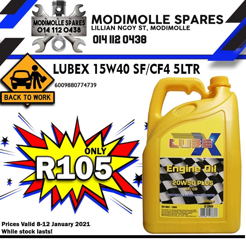 Lubex Engine Oil!