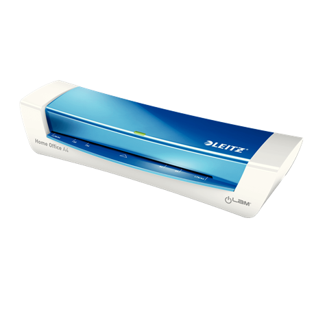 Leitz iLAM Home Office A4 Laminator Blue Metallic