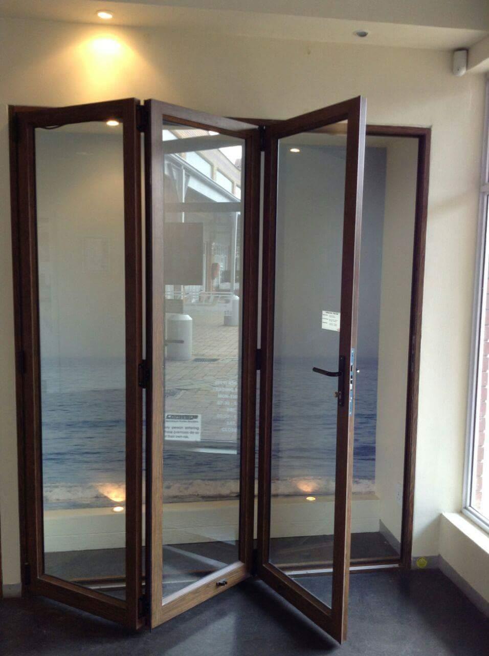 Glass Aluminium Stackingsliding Folding Doors Junk Mail