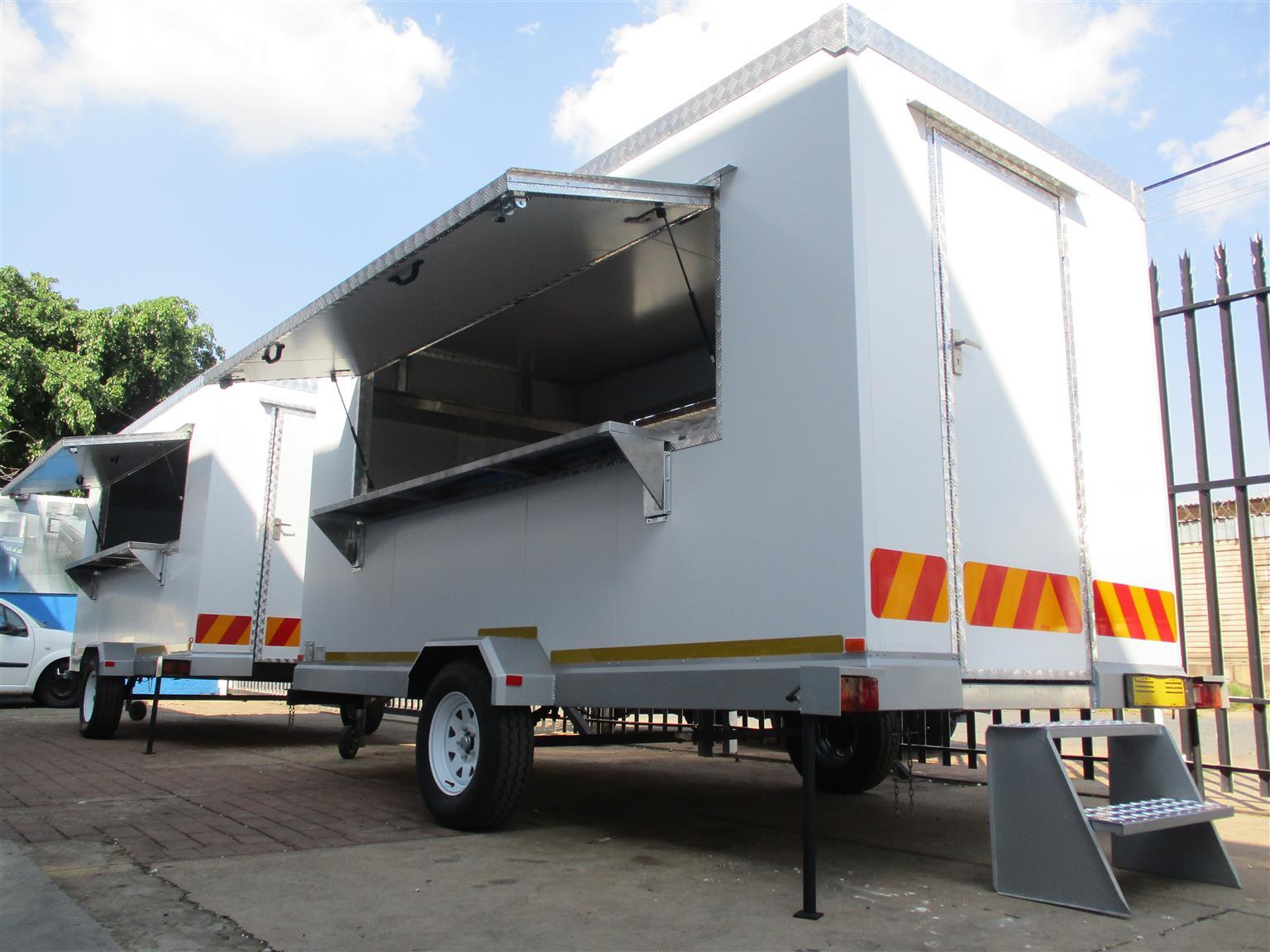 4M Mobile Kitchen Trailer