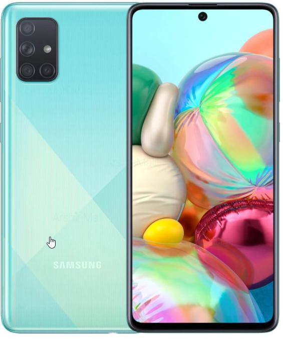 Samsung A71  Quad camera to swop for an LG G8X Daul screen