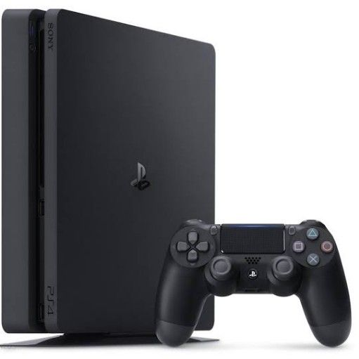 Playstation 4 slim with one controller