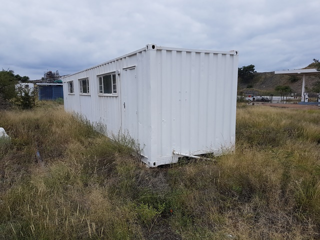 Unknown Cargo Container - ON AUCTION