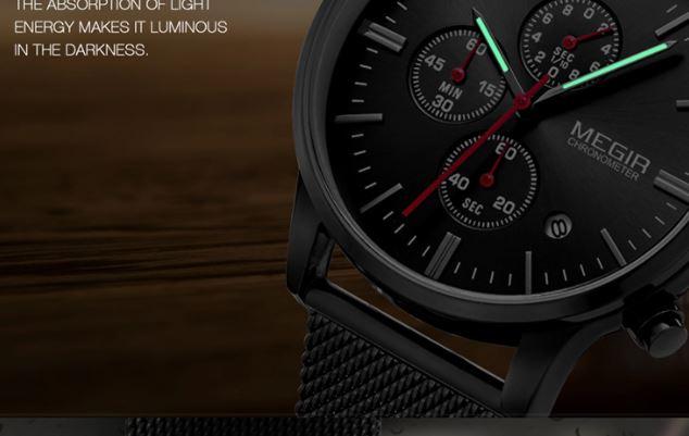 Megir Chronograph Watch for sale