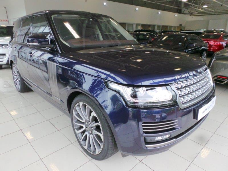2017 Land Rover Range Autobiography Sdv8