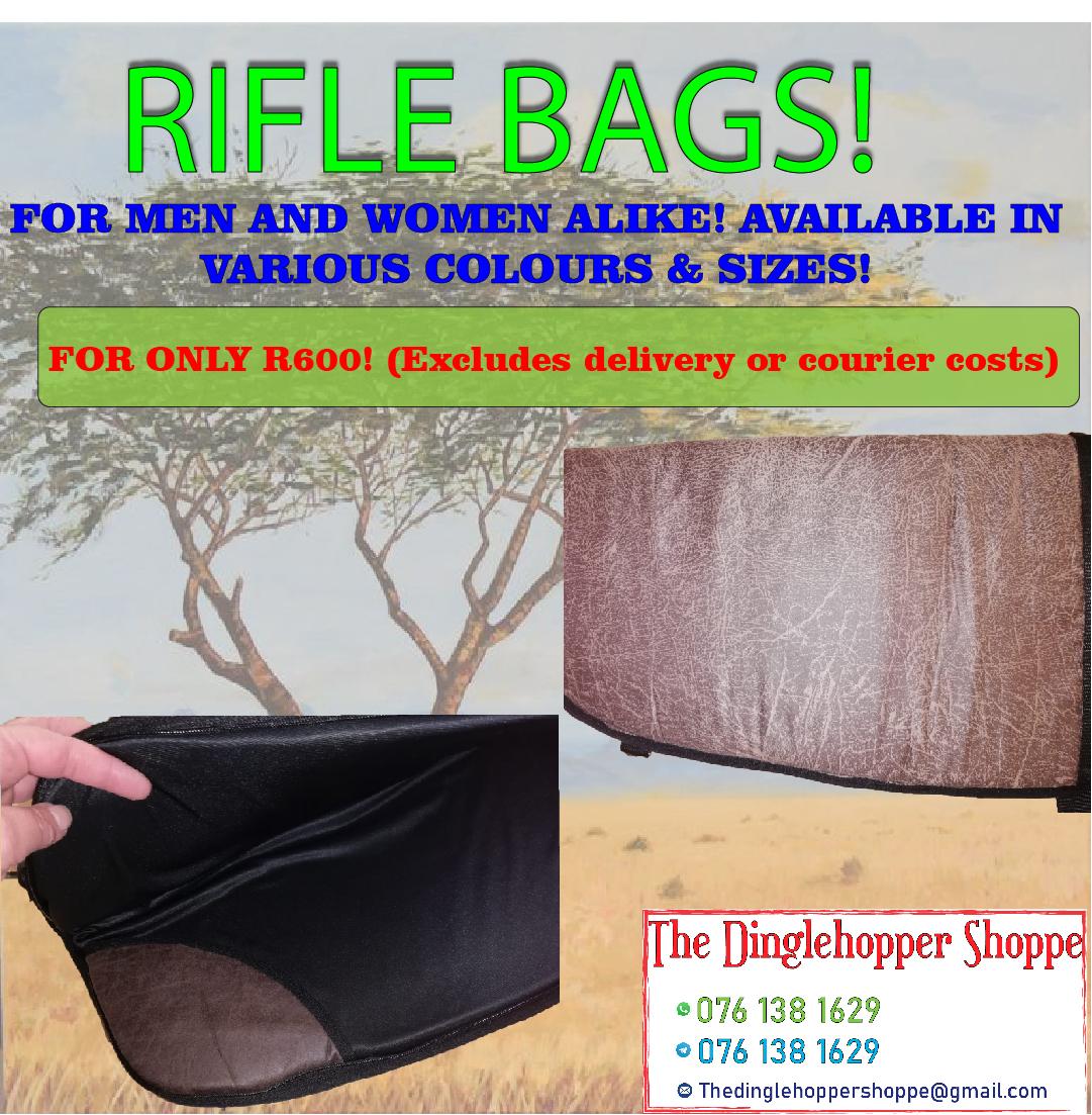 Rifle Bags for Men & Women alike!