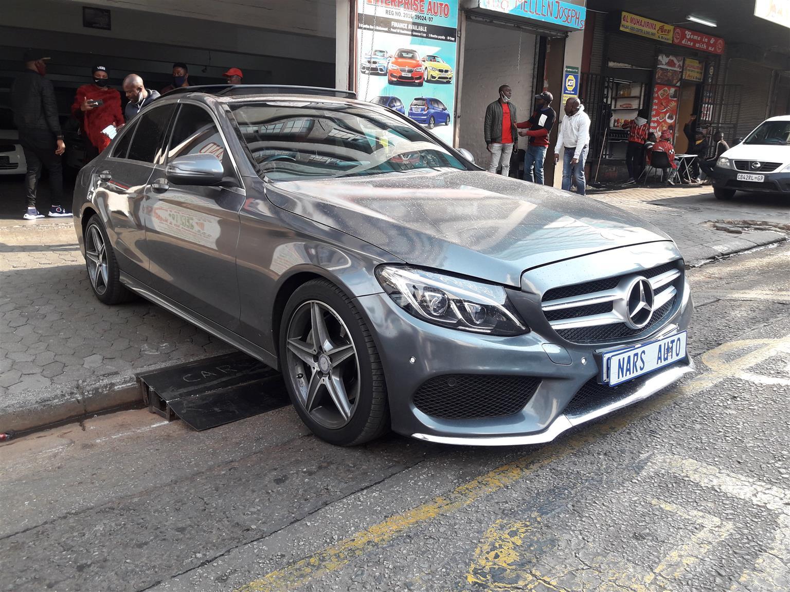 2016 Mercedes Benz C-Class C200 Edition C