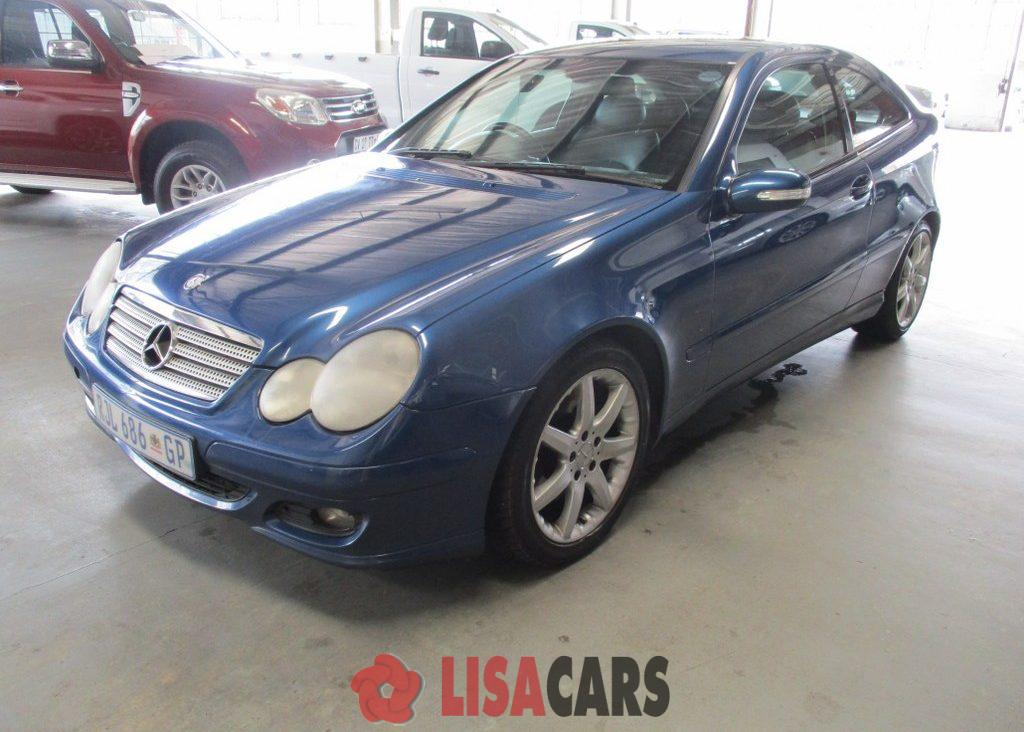2004 Mercedes Benz C-Class coupe C200 AMG COUPE A/T