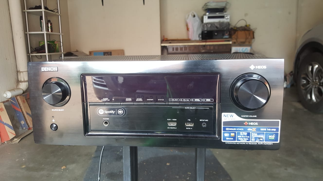 DENON Receiver AVR-X 2400H for sale