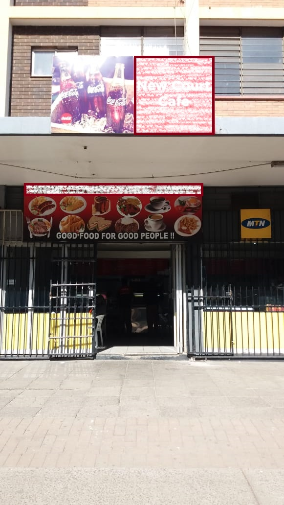Cafe and Take away in Pretoria CBD for sale.