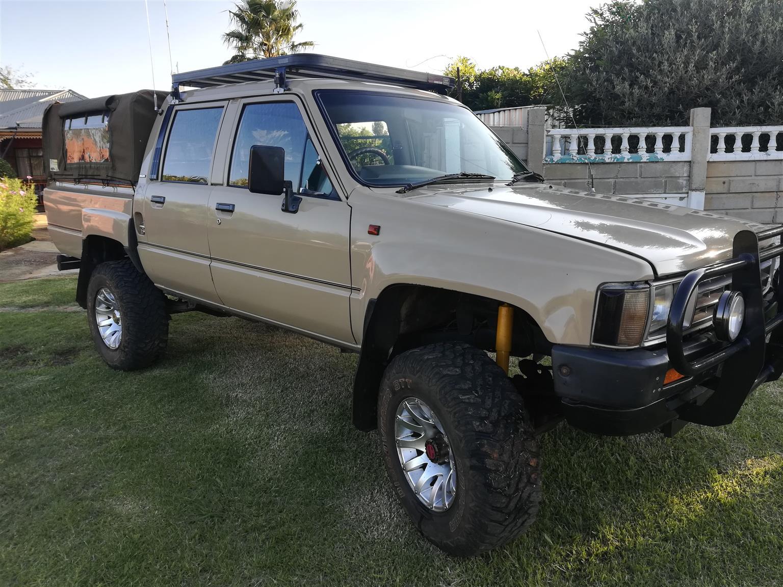 1991 Toyota Hilux 2.5D 4D double cab 4x4 SRX