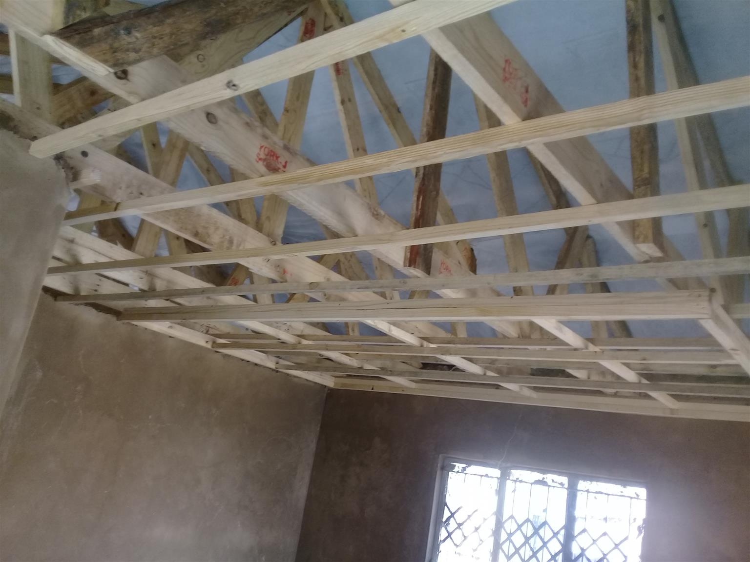 We do tiling floor and wall also we instal ceilings