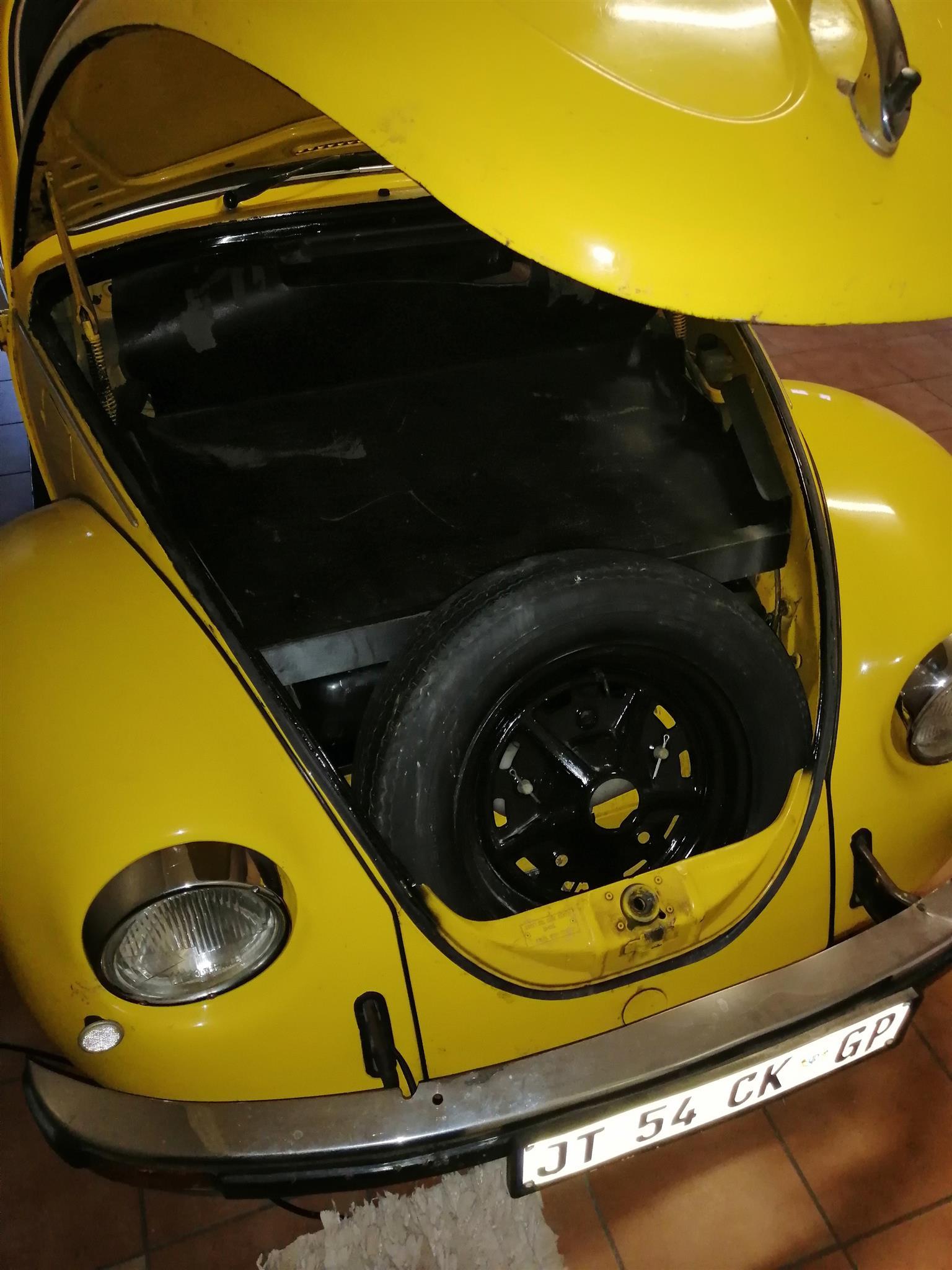 Vw beetle old school