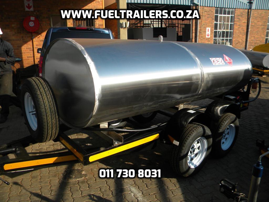 3000 Liters tanker trailer