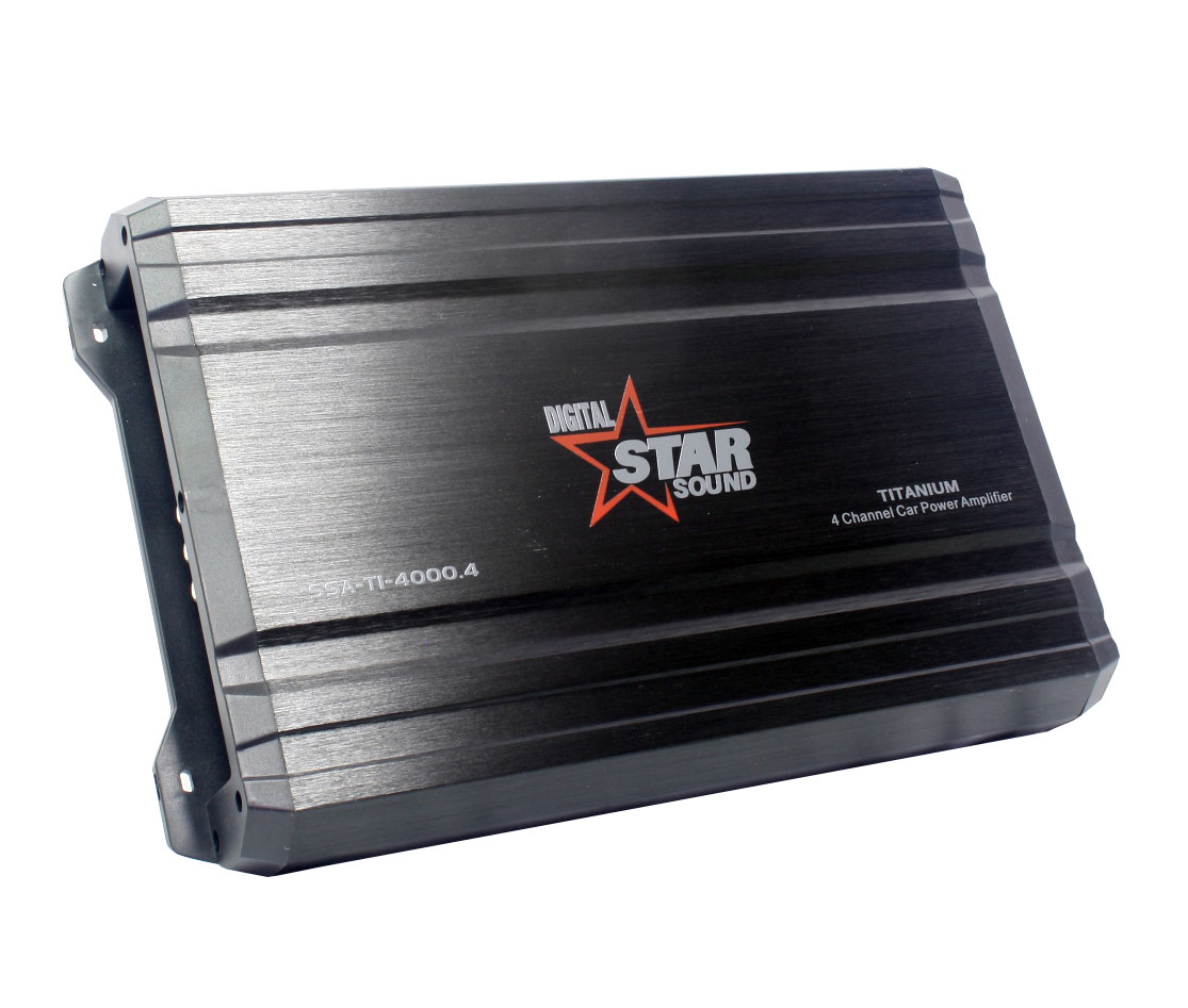 Starsound Digital SSA-T1-4000 4channel Amplifier