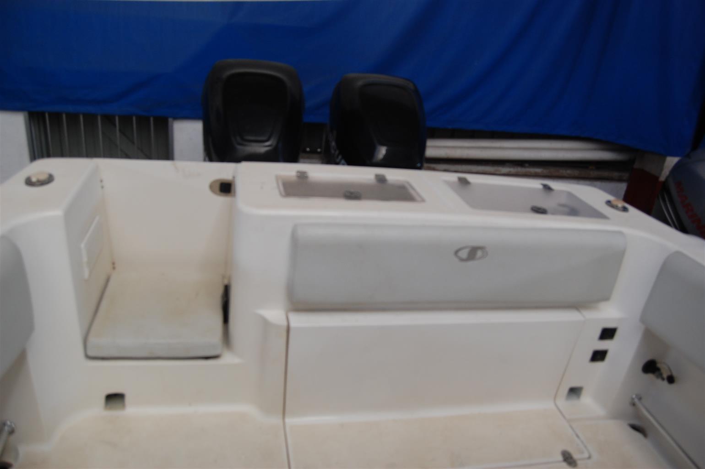 sensation offshore 30 ft on trailer 2 x 225 hp mercury optimax
