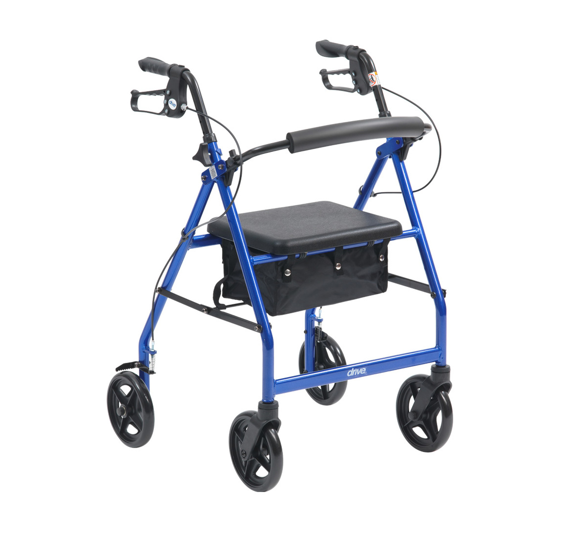 R8 Rollator by Drive Medical. FREE DELIVERY. On Promotional Offer, while stocks last.