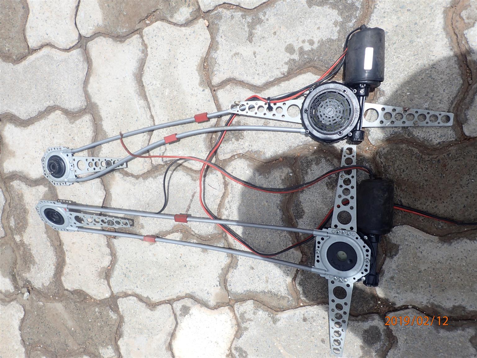 Electric window mechanism