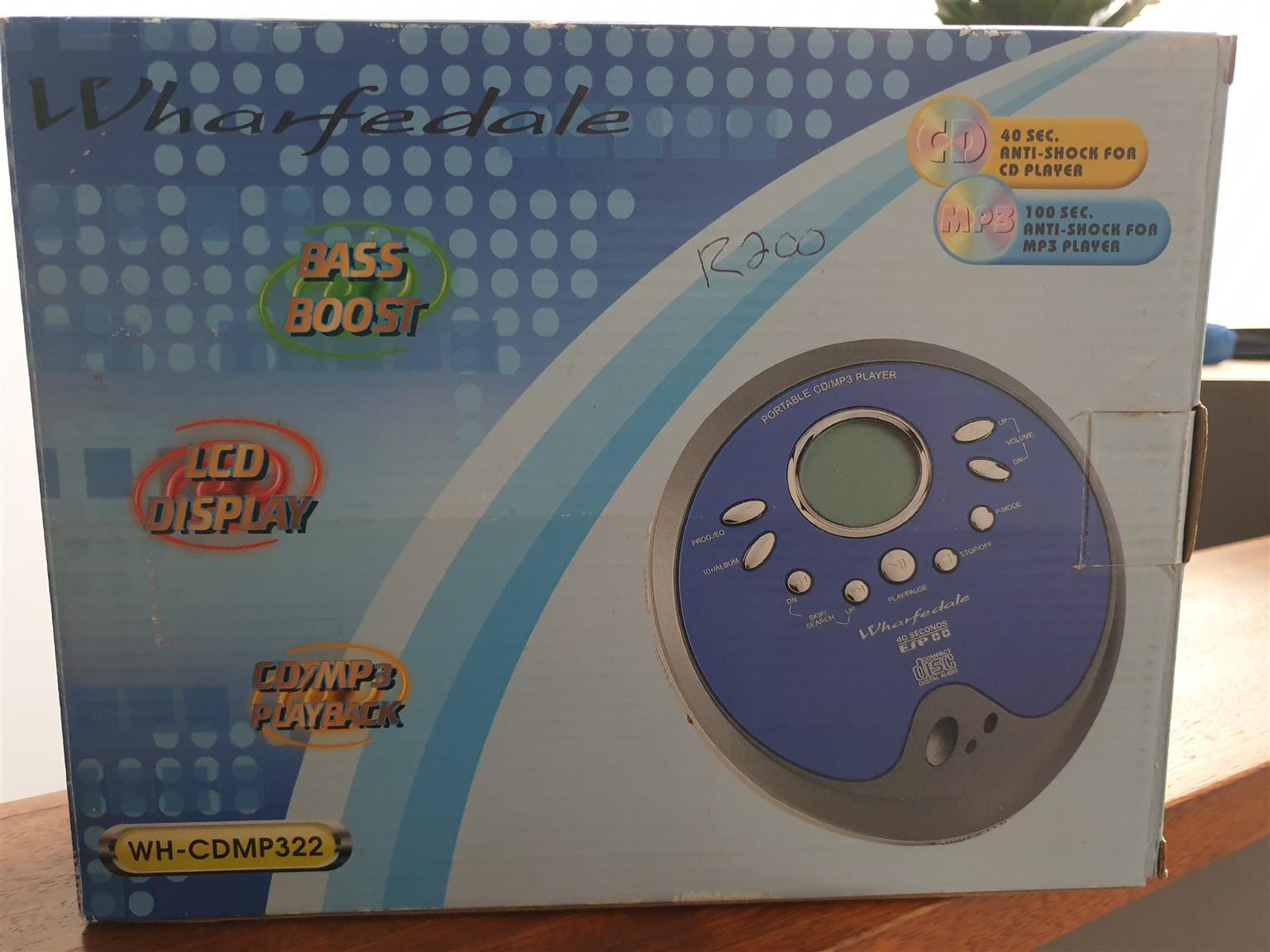 Portable CD/MP3 Player
