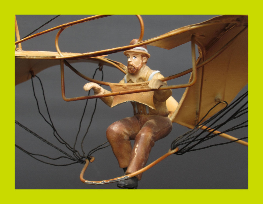 Vintage Decor Aeroplane Mobile - SKU 1273