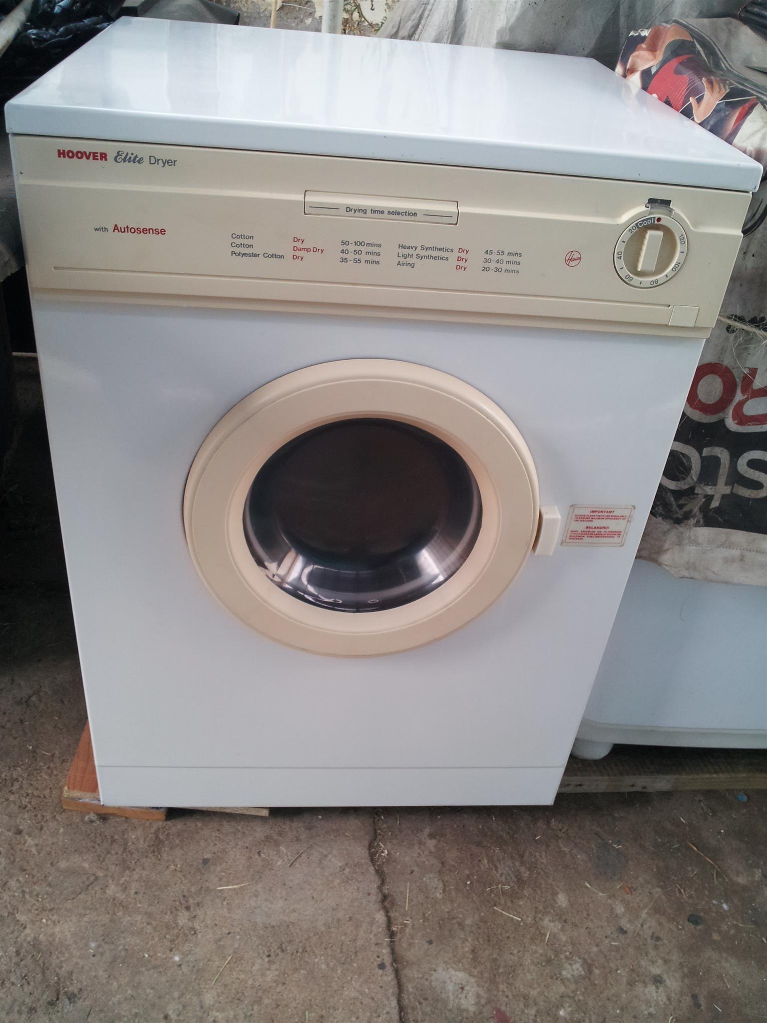tumble dryer 5kg refurbished hoover