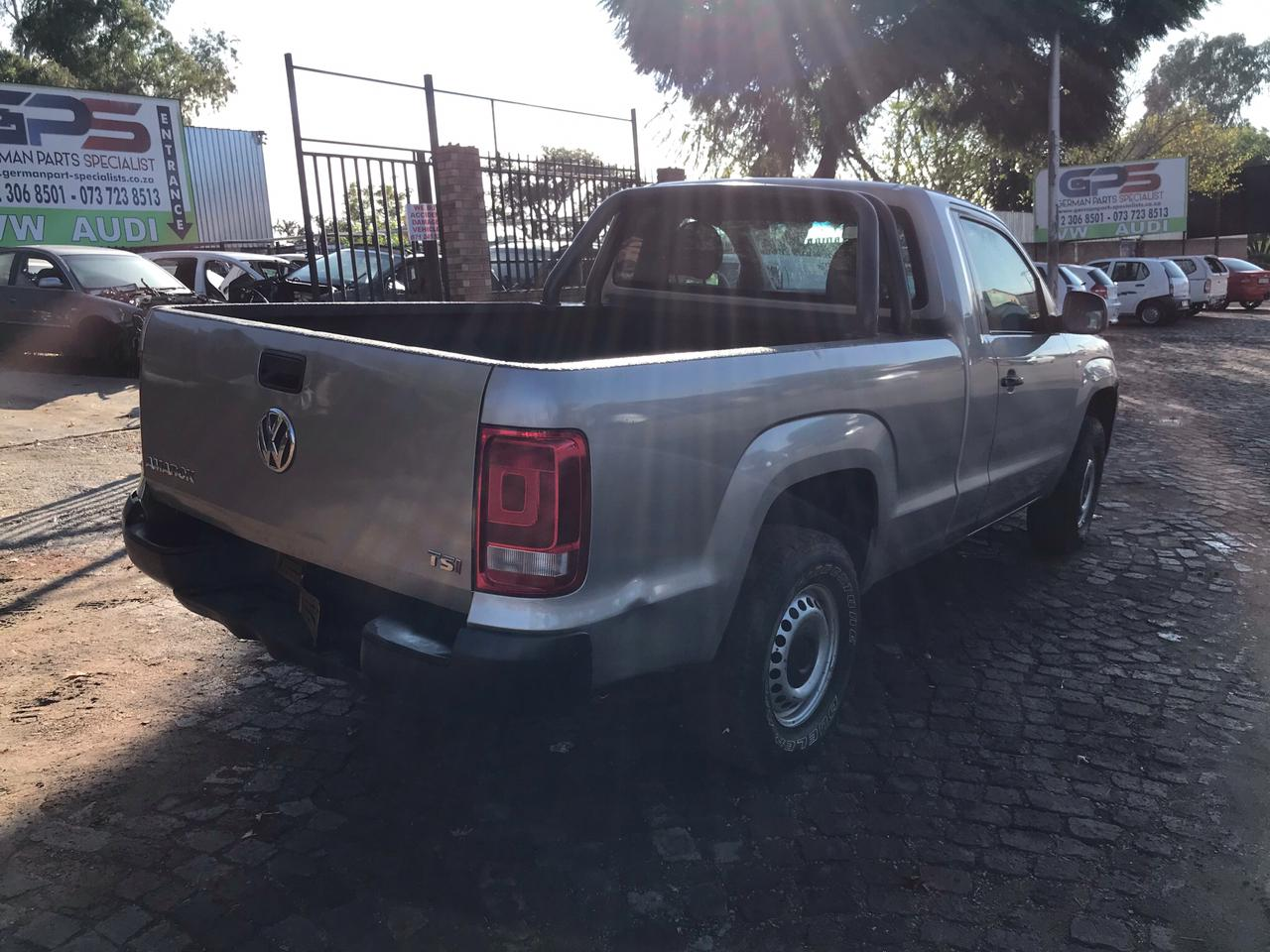 Volkswagen Amarok TSI 2.0 Manual 2010 CFP Stripping for Spares Parts