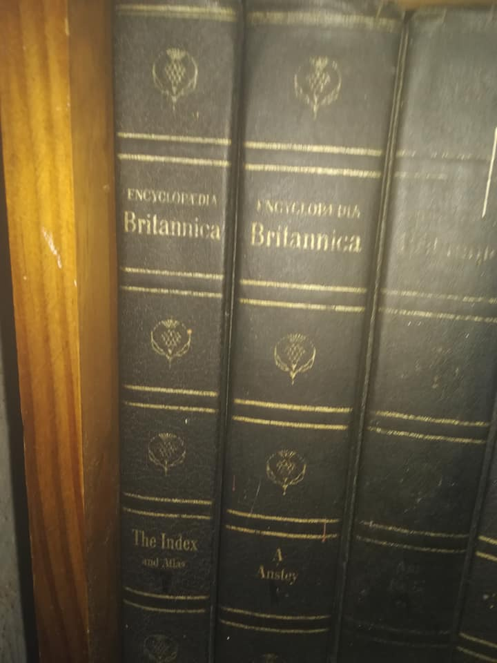 Encyclopedia Brittanica books for sale