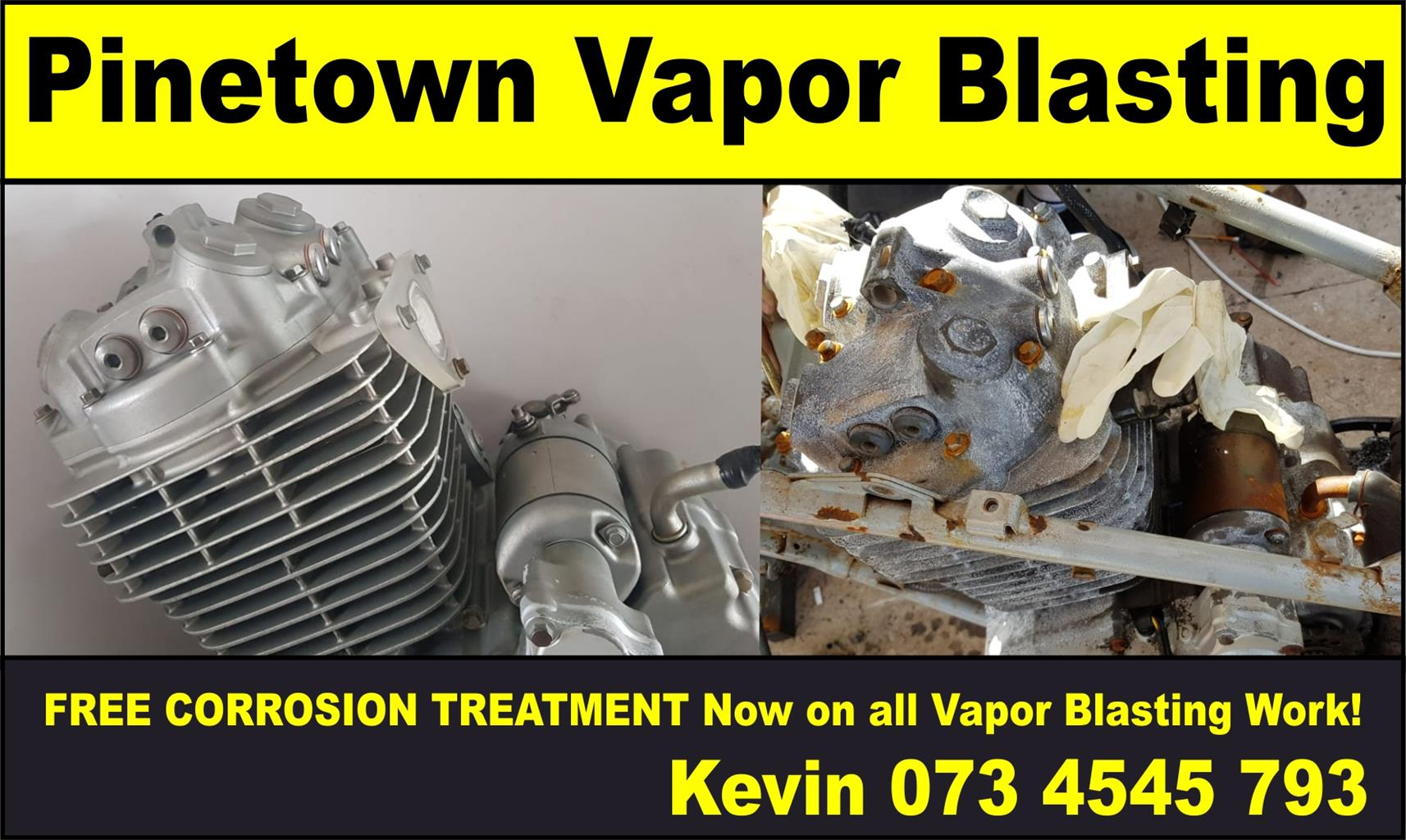 Vapor Blasting Services