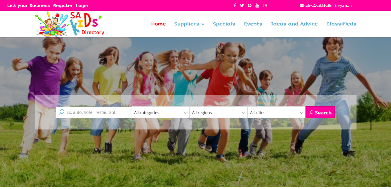 Online directory for parents and kids. Very automated. Excellent income opportunity