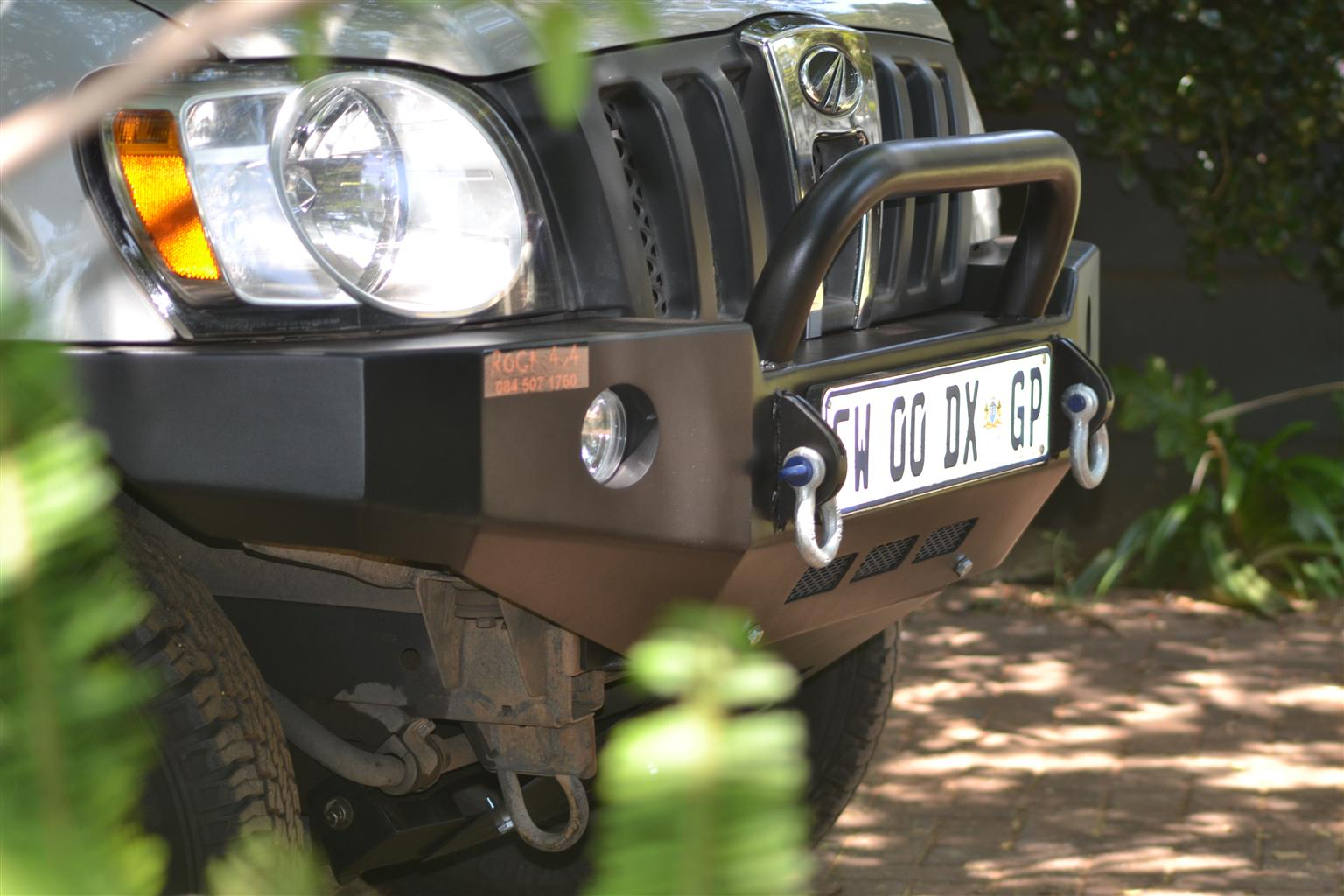 Mahindra Scorpio Steel Replacement Bumpers