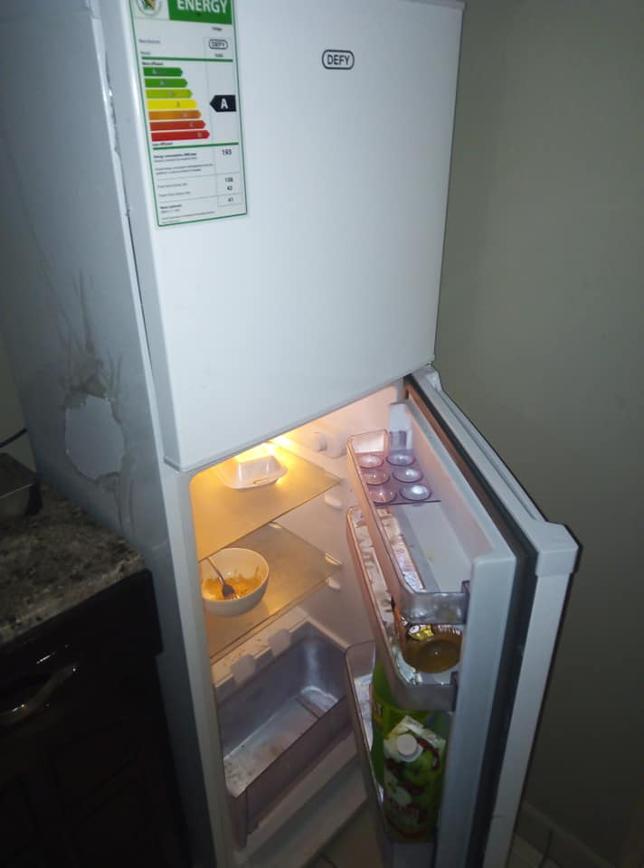 Defy fridge with top freezer for sale