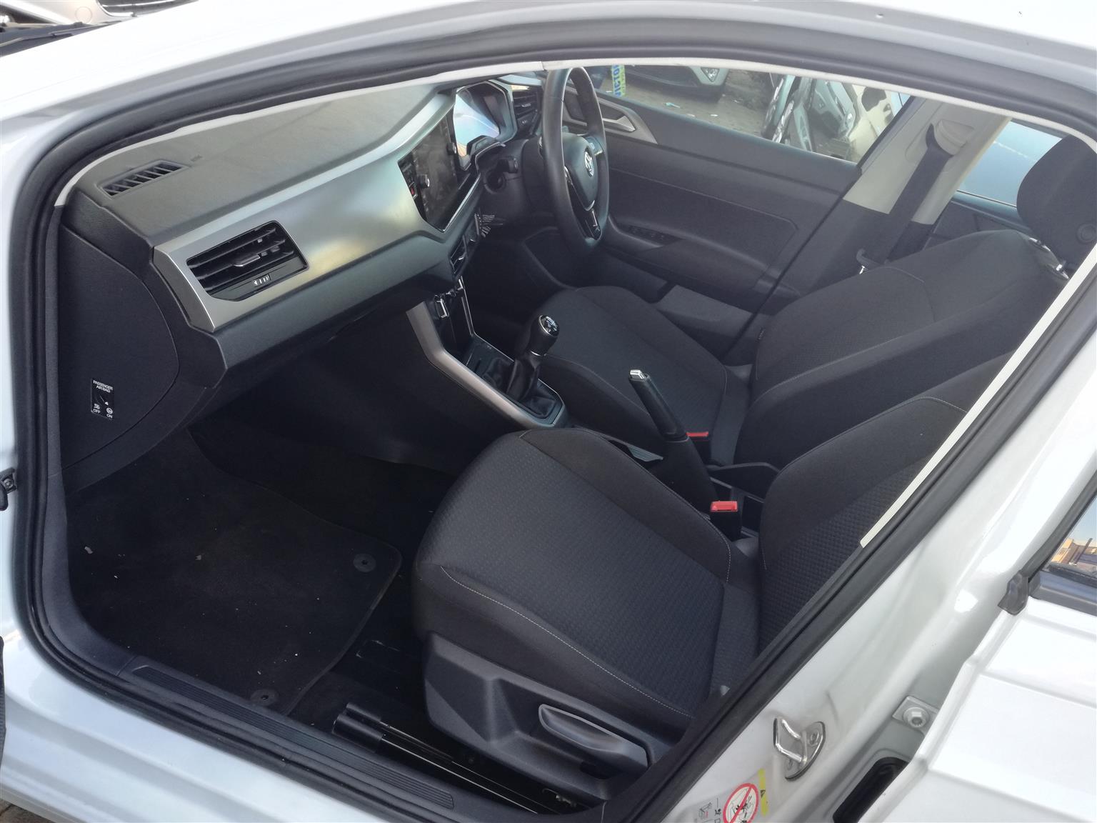 2020 Volkswagen Polo 1.0T TSi Comfortline 9,000km R218,000