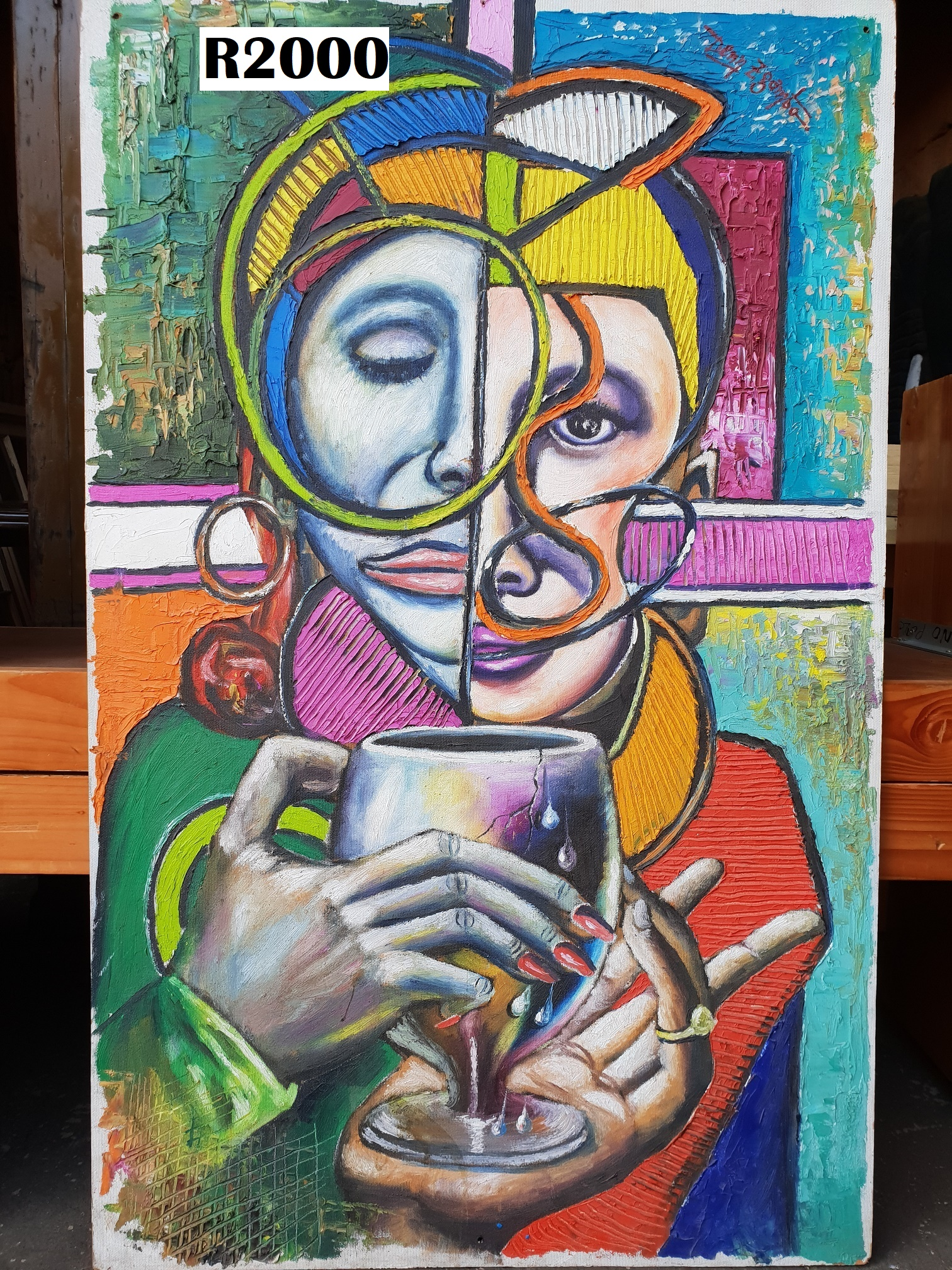 Original Dennis Zgambo Painting No 2 (750x1200)