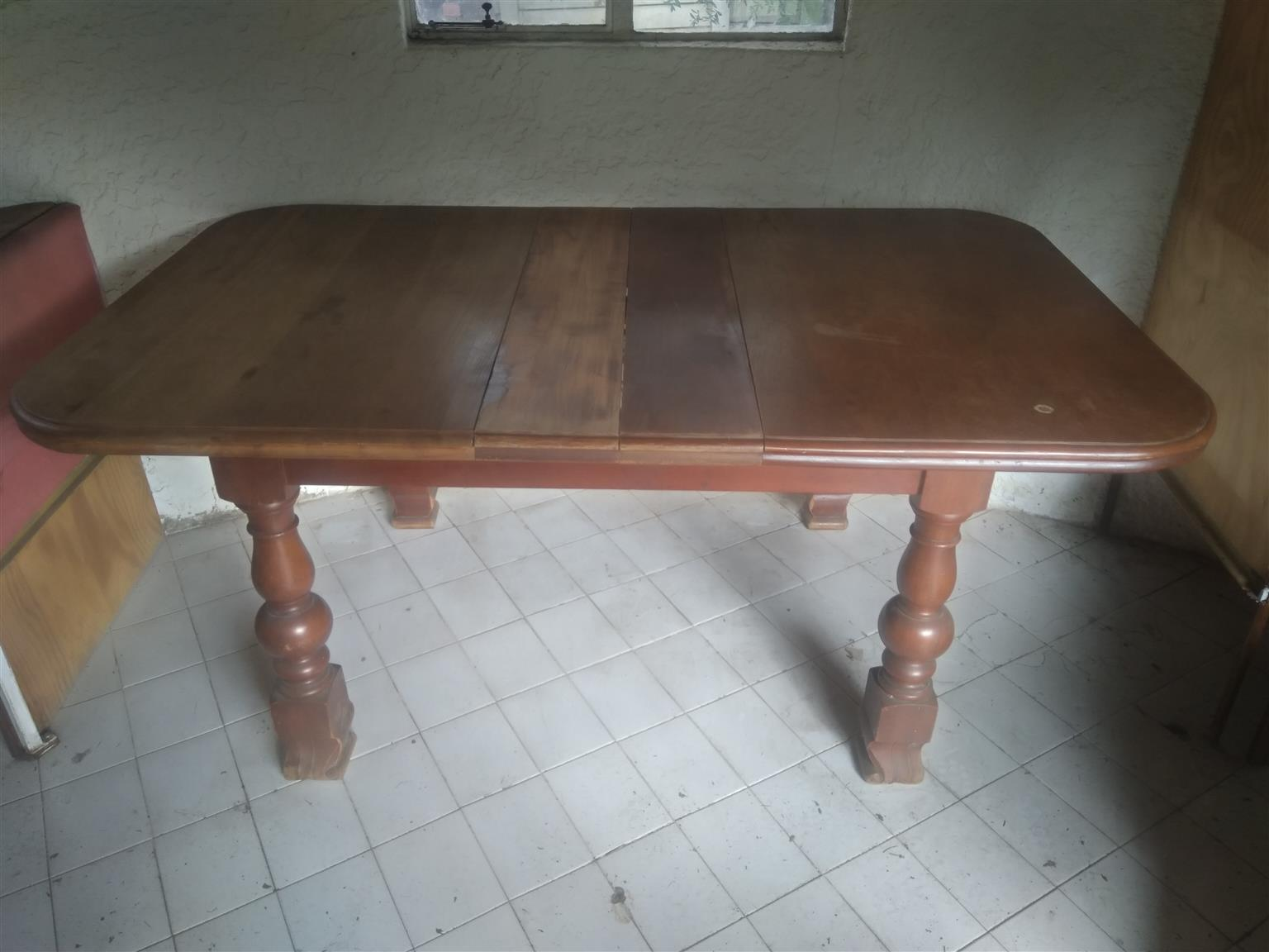 Rhodesian teak. About 98 years old. Busy restoring