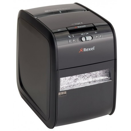 Rexel Auto+ 90X Cross Cut Paper Shredder with Auto Feed