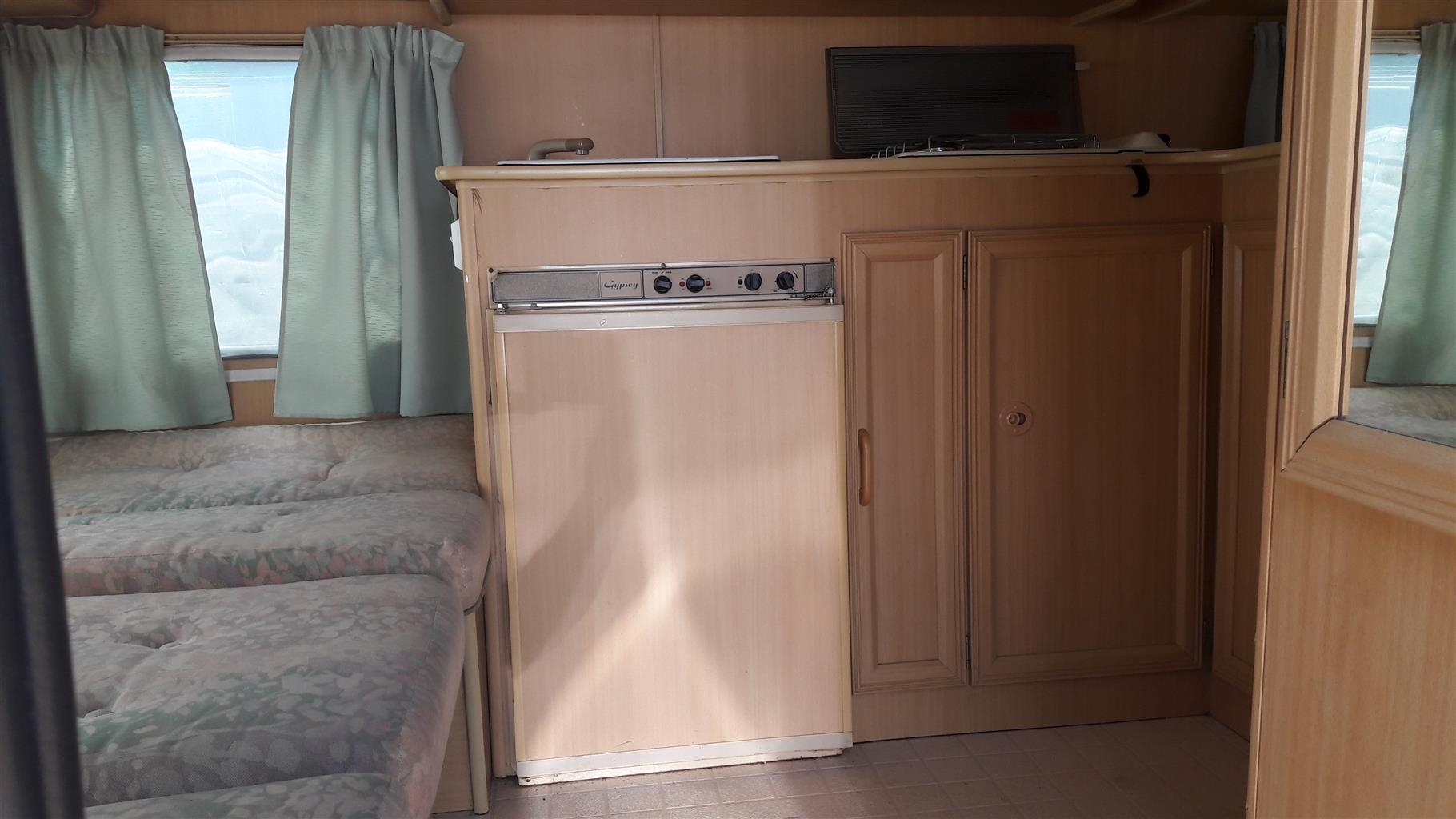 GYPSEY CARAVETTE 5 WITH FULL TENT IN EXCELLENT CONDITION MUST BE SEEN