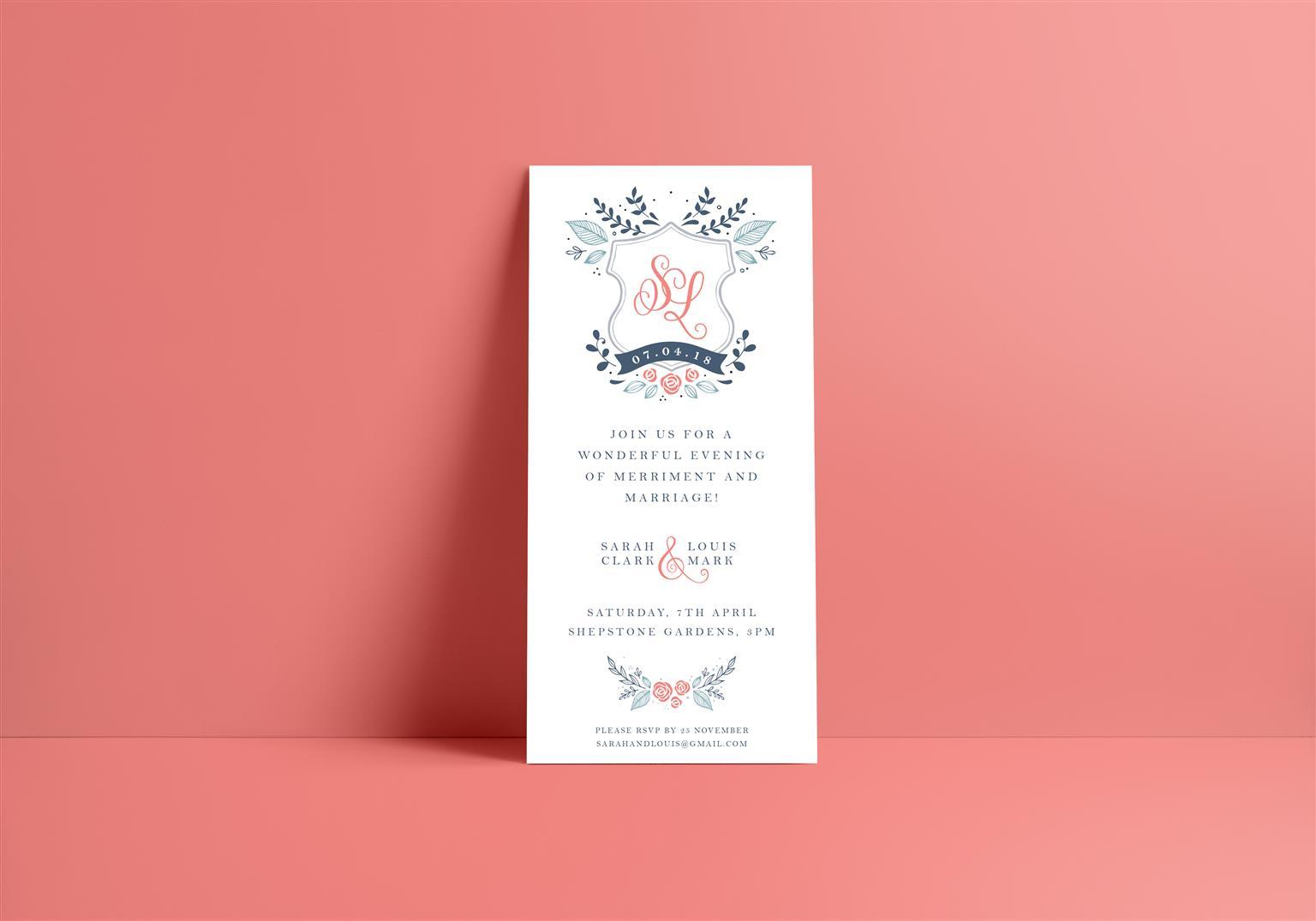Wedding Invitation Design & Event Invitation Design | Junk Mail
