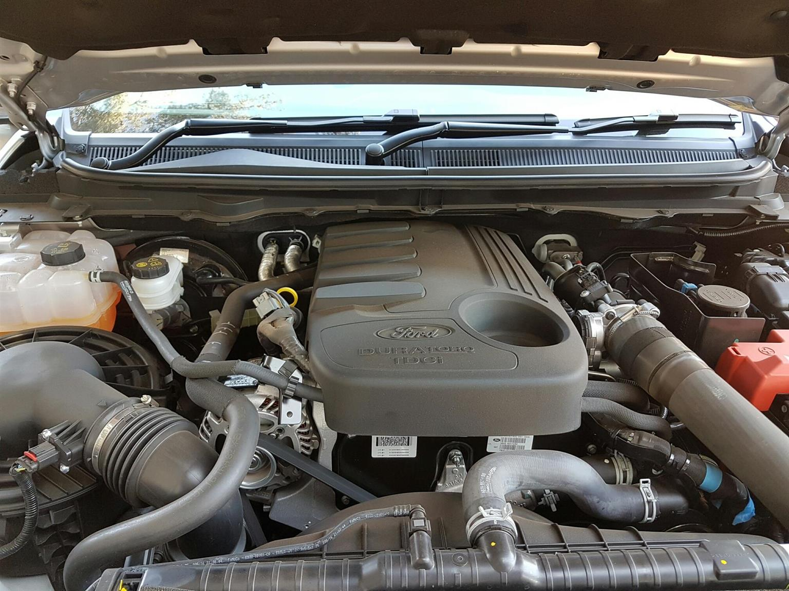 2016 Ford Ranger double cab RANGER 3.2TDCi 3.2 WILDTRAK 4X4 A/T P/U D/C