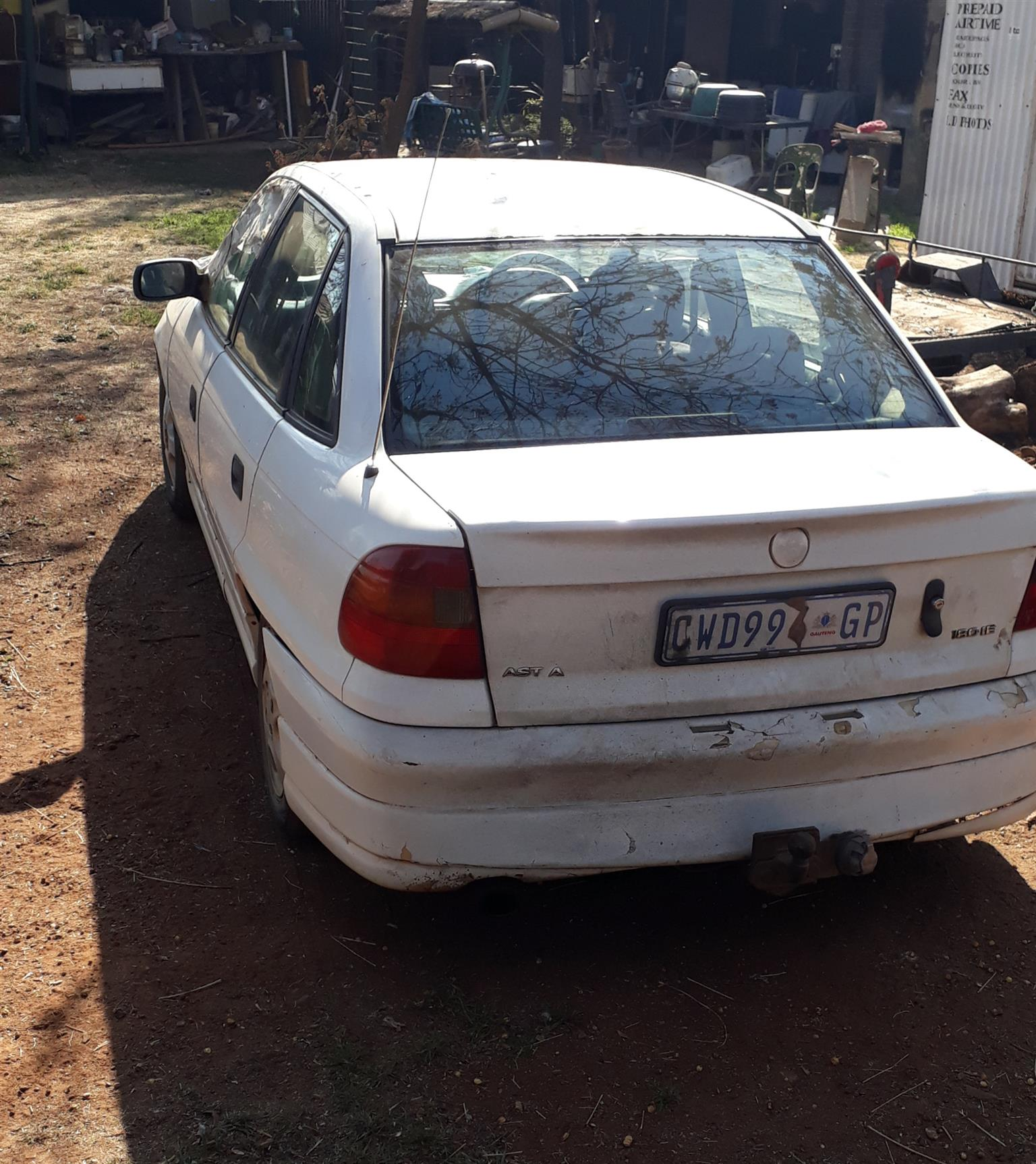 Opel astra 180ie