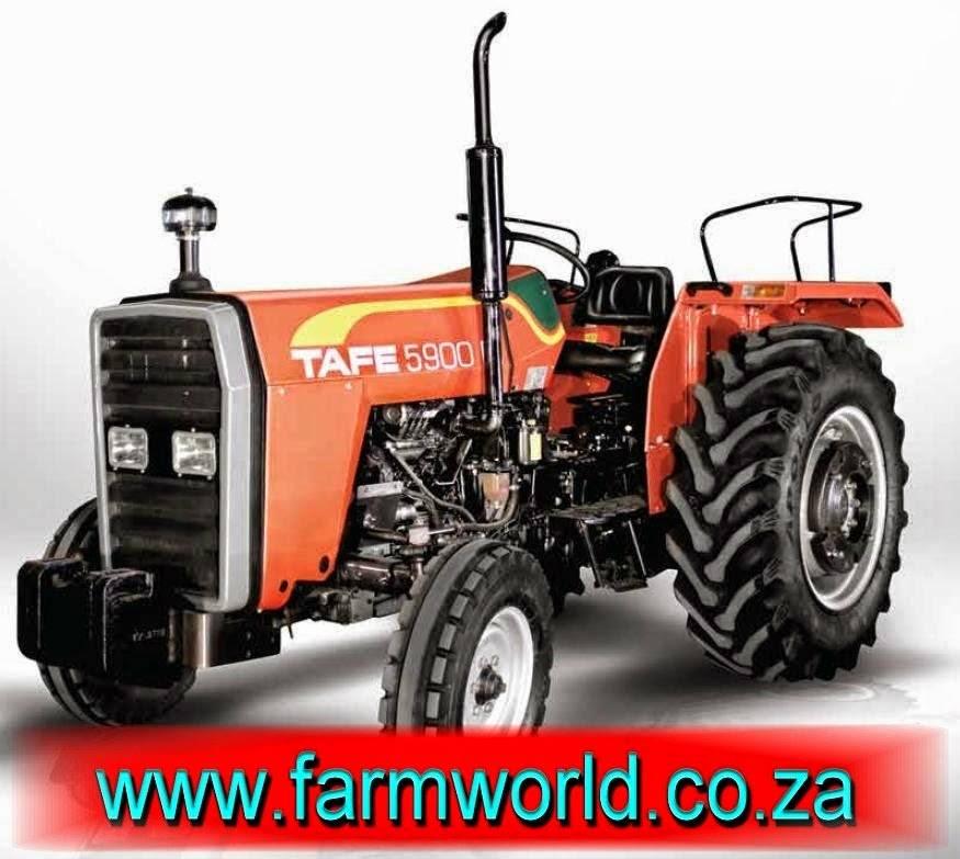 Orange TAFE 5900 DI 45kW/60Hp 2x4 New Tractor