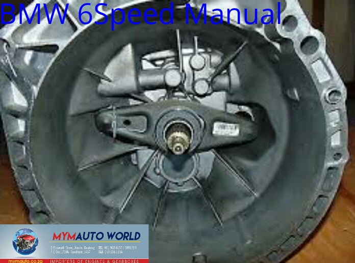 Imported used BMW 6 SPD MANUAL, Complete second hand used gearboxes