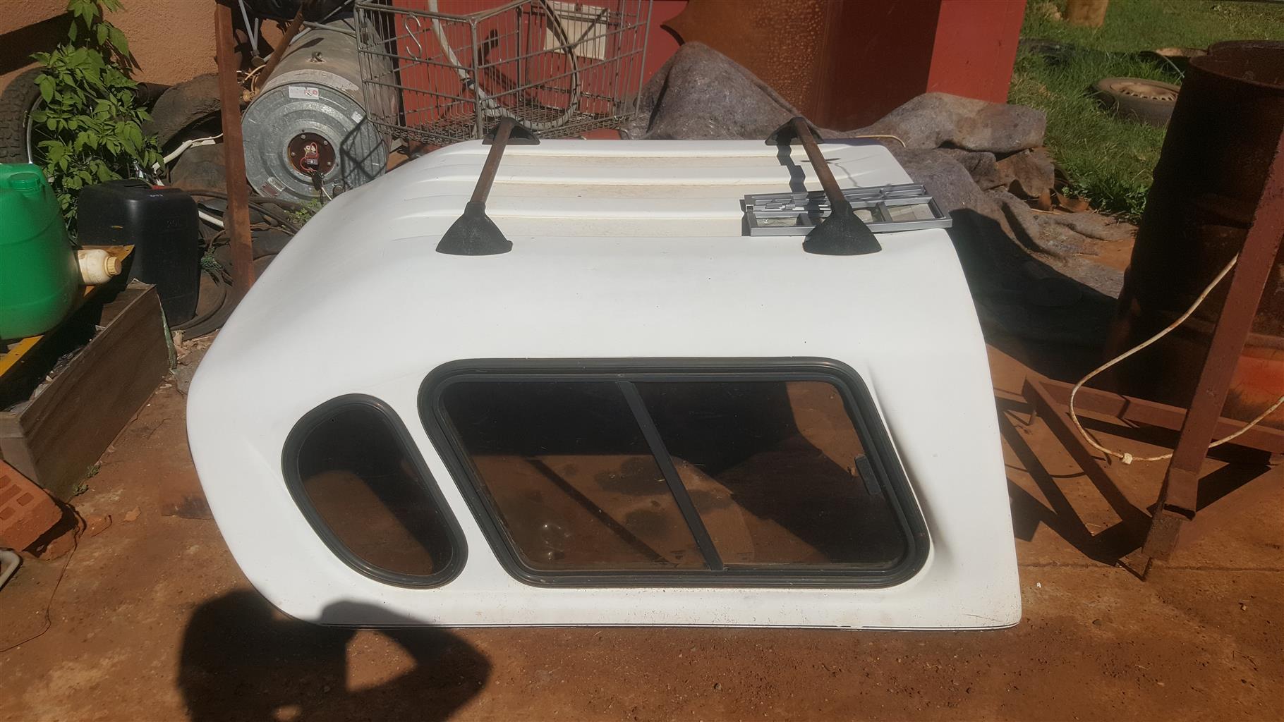 Old shape corsa bakkie canopy for sale.