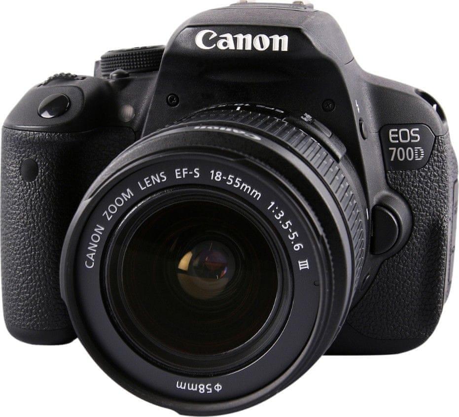CANON EOS 700D 18-55 DC III CAMERA LENS KIT