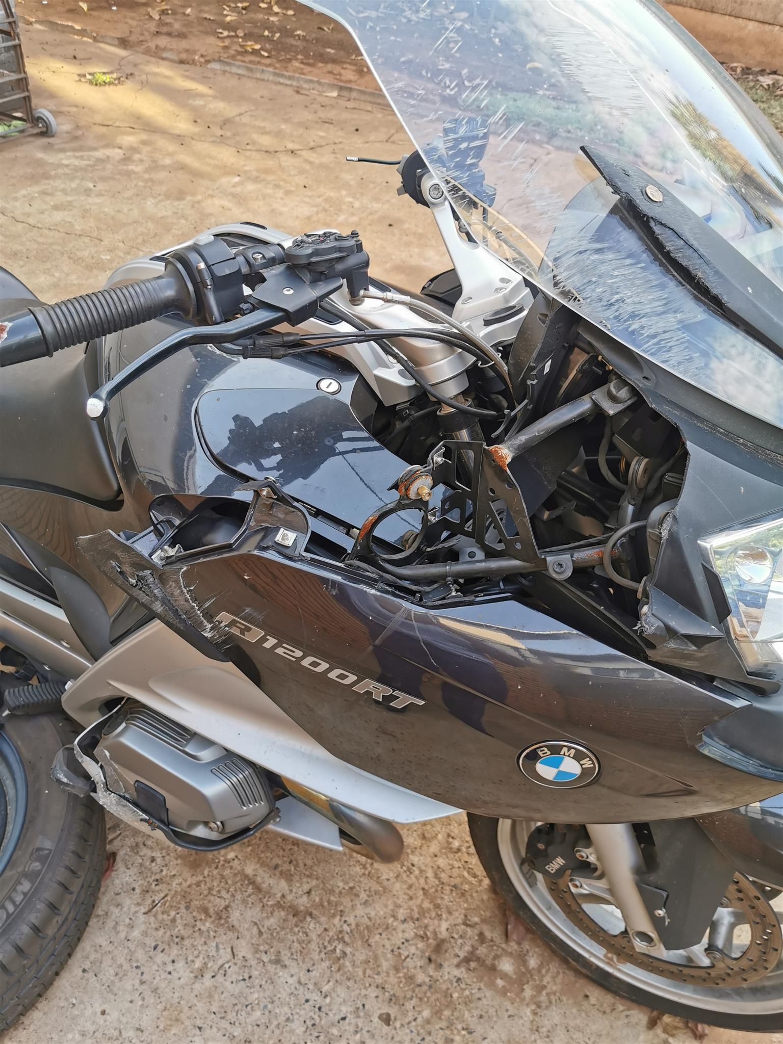 2012 Accident Damaged Bikes BMW