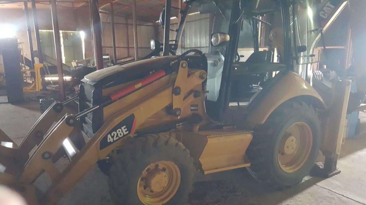 Caterpillar 428 E Backhoe loader