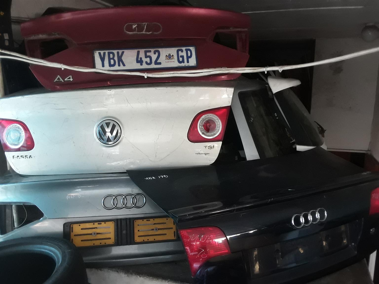 AUDI AND VW BOOT LID FOR SALE