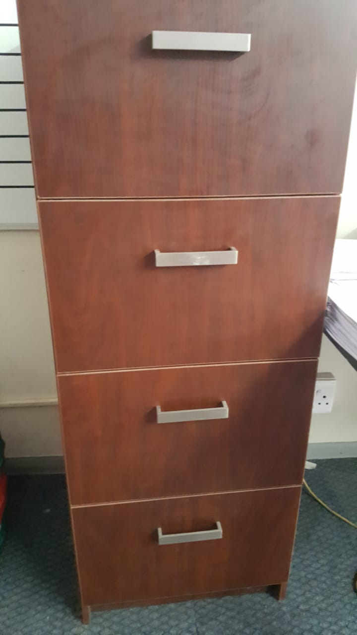 Filing cabinets x2